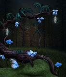 The magic tree stock illustration
