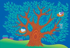 Magic tree Stock Photo