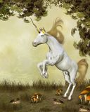 Magic unicorn Royalty Free Stock Image
