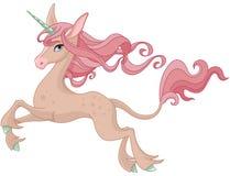 Magic Unicorn. Illustration of cute magic unicorn Royalty Free Stock Images