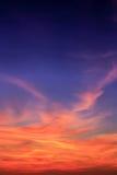 Magic Unreal Sunrise Stock Photo