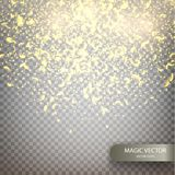 Magic vector luminous background. royalty free illustration