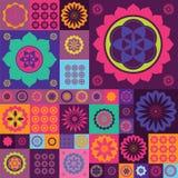 Magic violet lotos design  print Royalty Free Stock Photo