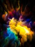 Magic of Virtual Canvas Stock Photo