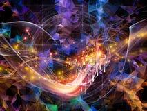 Magic of Virtual World royalty free stock images