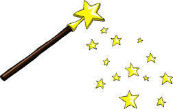 Magic wand Stock Photos
