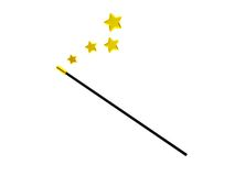 Magic wand Royalty Free Stock Photo