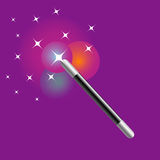Magic wand Stock Photography