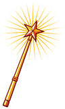 Magic wand Royalty Free Stock Images