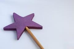 Magic wand  on white Royalty Free Stock Image