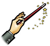 Magic wand - White background Stock Photo