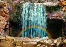 Magic waterfall Royalty Free Stock Photography