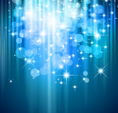 Magic Waterfall of lights Royalty Free Stock Images