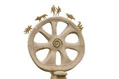 Magic wheel Stock Image