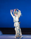 """The magic of whisk-The fifth act Steal immortal-Kunqu Opera""""Madame White Snake"""" Stock Photo"""
