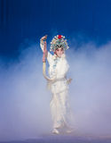 """The magic of whisk-The fifth act Steal immortal-Kunqu Opera""""Madame White Snake"""" Royalty Free Stock Photography"""