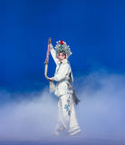 """The magic of whisk-The fifth act Steal immortal-Kunqu Opera""""Madame White Snake"""" Stock Photos"""