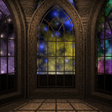 Magic window in a fantasy setting Royalty Free Stock Photo