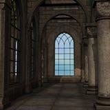 Magic Window In A Fantasy Setting Stock Photo