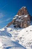 Magic of winter. Beautiful winter snowscape in alps Stock Photo