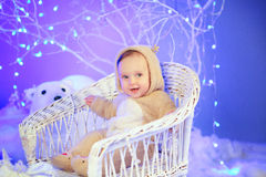 Magic winter Stock Images