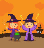 Magic Witch Wizard Royalty Free Stock Photos