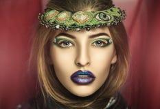 Magic Woman make up royalty free stock images