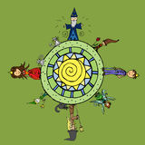 Magic World Royalty Free Stock Image