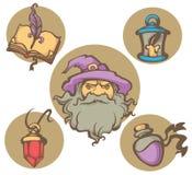 Magic world Stock Images