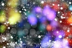 Magic xmas background. Christmas illustration Happy New Year - colorful xmas background Royalty Free Stock Images