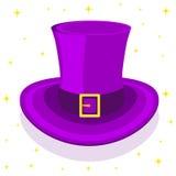 Magic сylinder hat. Vector illustration Stock Image