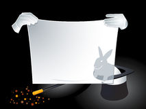 Magical advertisement Stock Photography