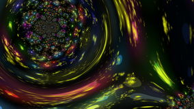 Magical animation with fantasy background in motion, loop HD 1080p stock footage