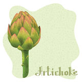 Magical Artichoke Royalty Free Stock Photo