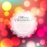 Magical background with colorful bokeh Stock Photos