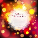 Magical background with colorful bokeh Royalty Free Stock Images