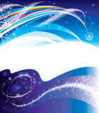 Magical banners royalty free illustration