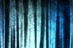 Magical Blue Pattern Abstract Fabric Background Stock Image