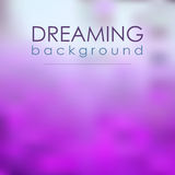 Magical Blur Violet Background Dreaming Royalty Free Stock Photography