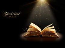 Magical bok Royaltyfri Bild