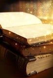 Magical bok Arkivbild
