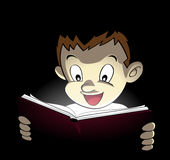 magical bok Arkivbilder