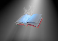 Magical book Stock Images