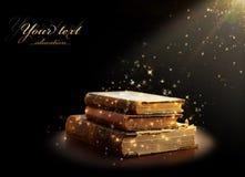Magical book Stock Photo