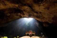 Magical cave Stock Photos