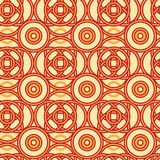 Magical celtic circles seamless pattern background Royalty Free Stock Image