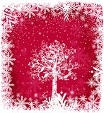 Magical Christmas. Christmas illustration with copy space in the centre if needed vector illustration