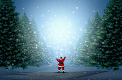 Magical Christmas Background Stock Photos
