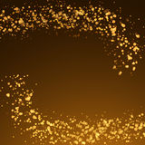 Magical christmas glittering abstract background Stock Images