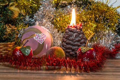 Magical Christmas picture Stock Photos